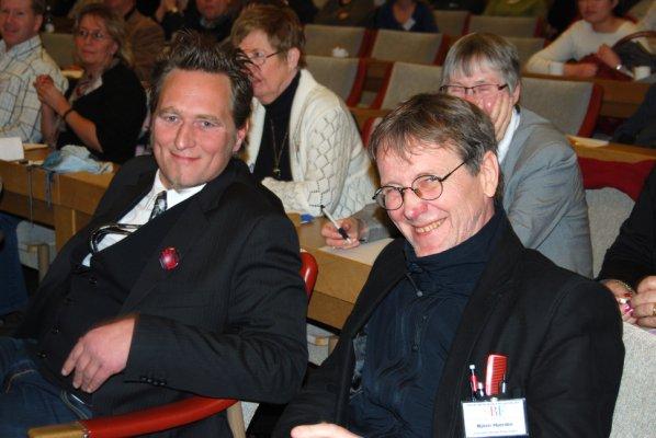 Berne Stålenkrantz och Björn Hjerdin.